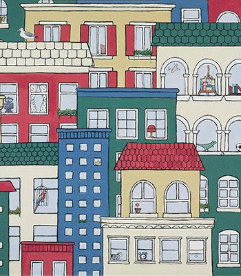 Jack's Cityscape-Jo-Vickers