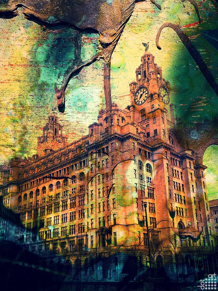 Liver Building Strange Day-James-Beck