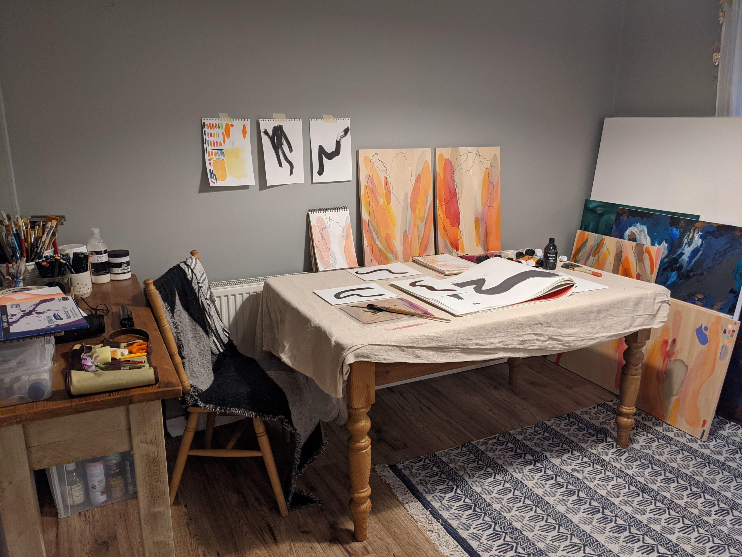 Claire Western-Studio
