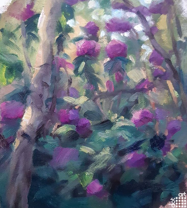 Rhododendron Forest-Jacob-Gourley