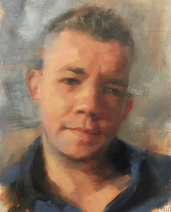 Russel Tovey (Sky Portrait Artist of the Week)Jacob-Gourley