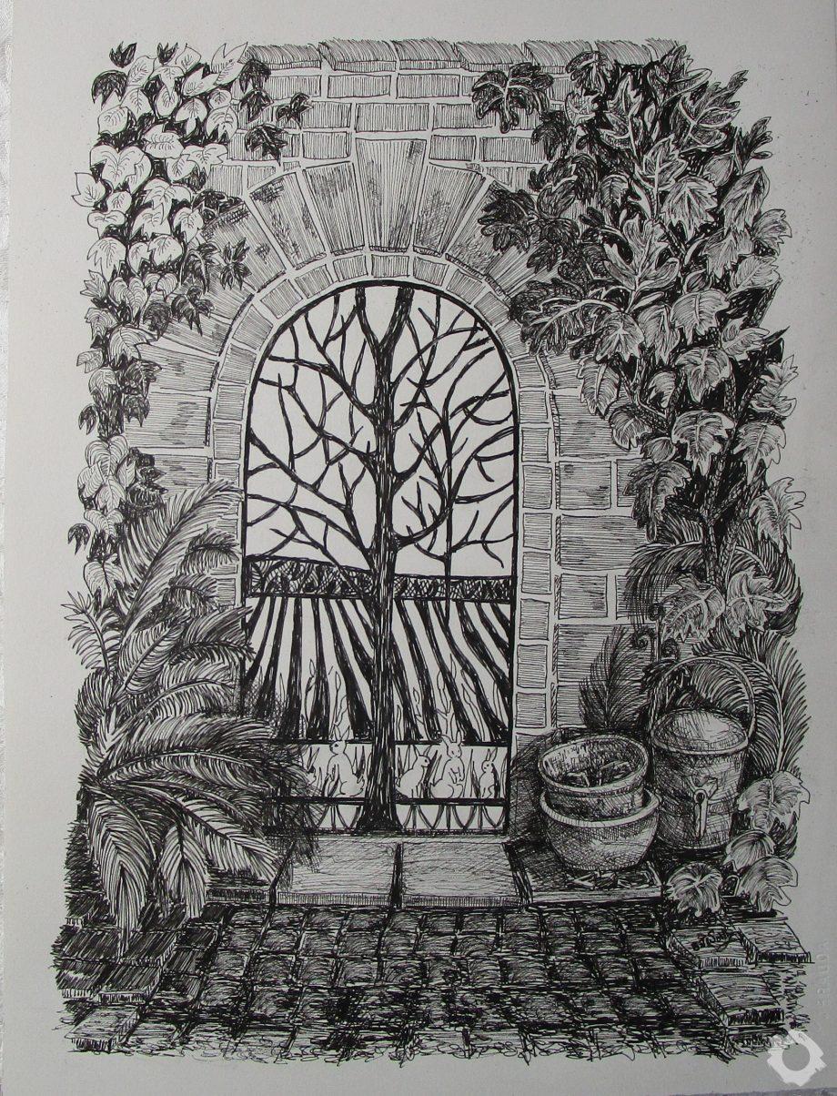 Norton Priory Garden Gate – Jean Worth