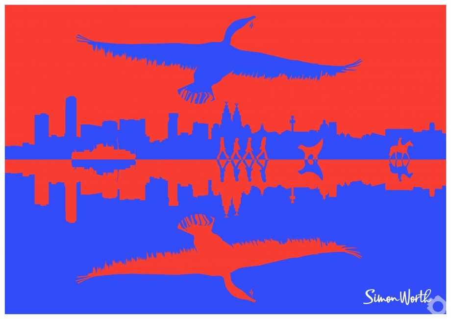 Simon-Worth-Red or Blue