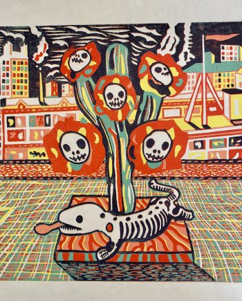 Day of Dead Cactus - Vincent Kelly