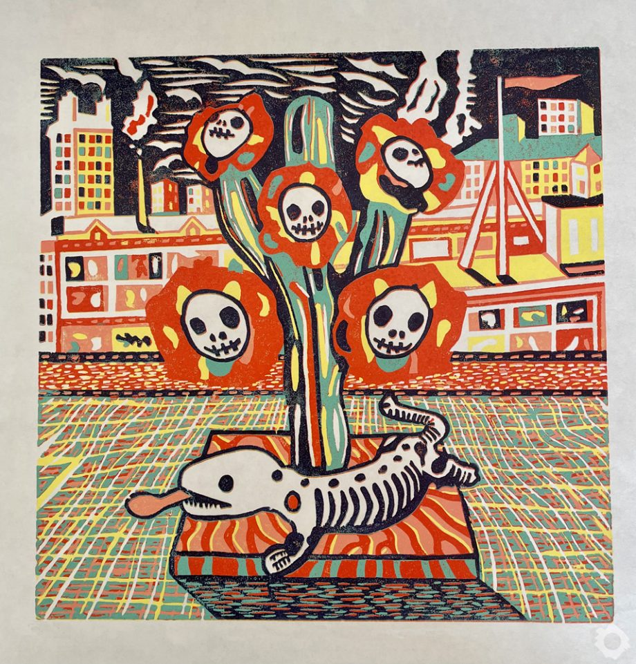 Day of Dead Cactus – Vincent Kelly