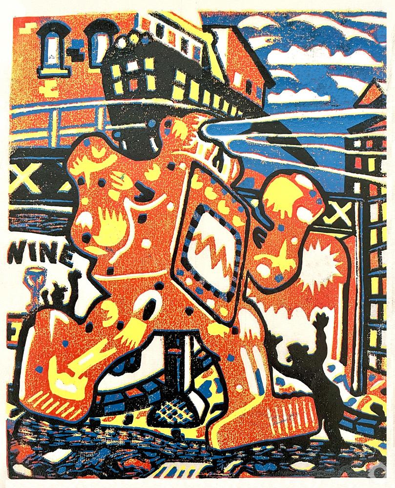 Red Robot -Vincent Kelly