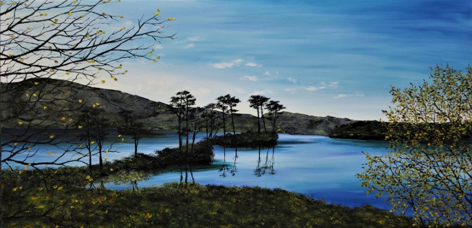 new day on loch assynt – hazel thompson