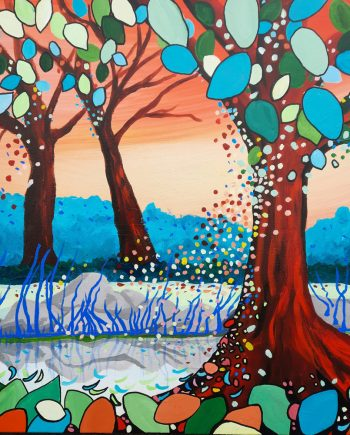 Small Pond (Calderstones Park)-Steve-Bayley