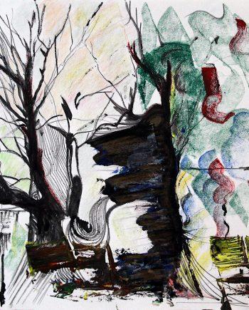 Station trees # 1-David-Rayward