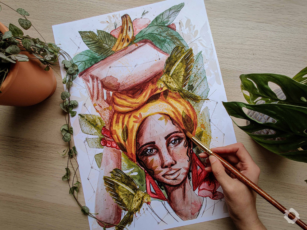Brazilian Baiana - Anne Waziack