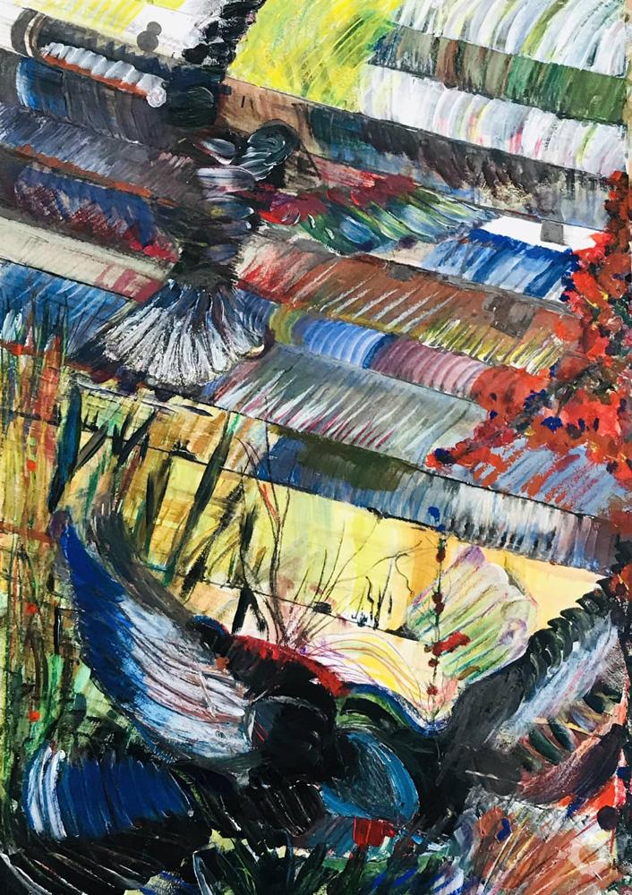 Birds at St Catherine's Road-David-Rayward