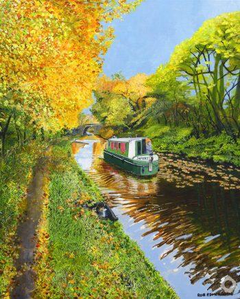 Autumnal Canal - Rob Edmonson