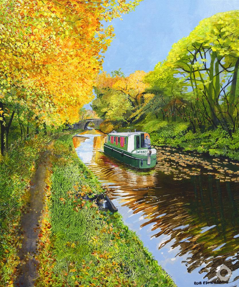 Autumnal Canal – Rob Edmonson