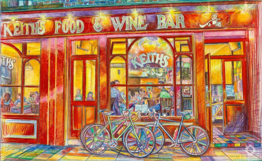 Jazz and Bikes outside Keith's – Alex Corina