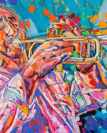 Tony on Trumpet - Alex Corina