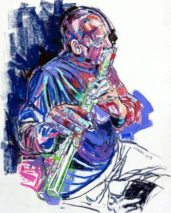 Buster on Flute - Alex Corina