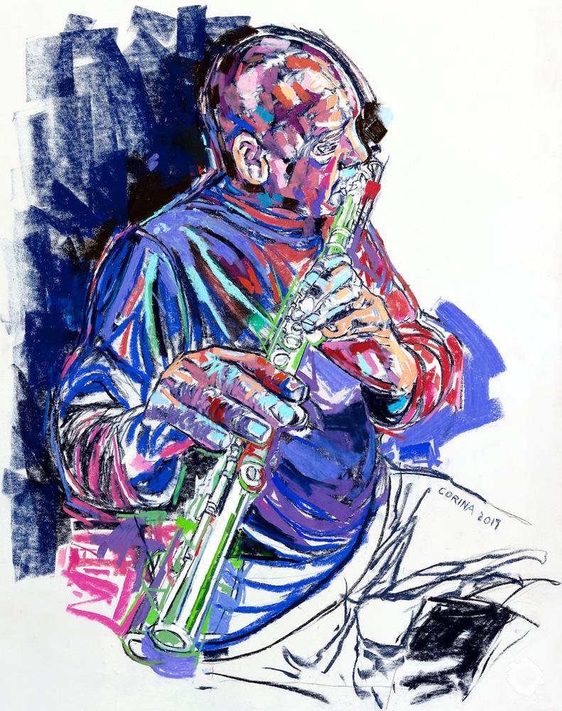 Buster on Flute – Alex Corina