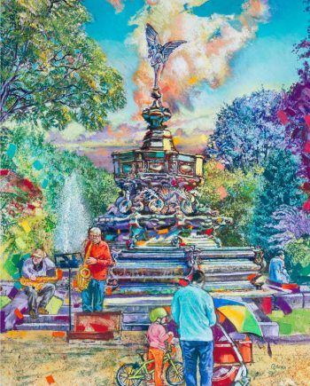 Eros Fountain - Alex Corina