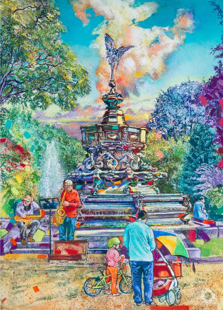 Eros Fountain – Alex Corina