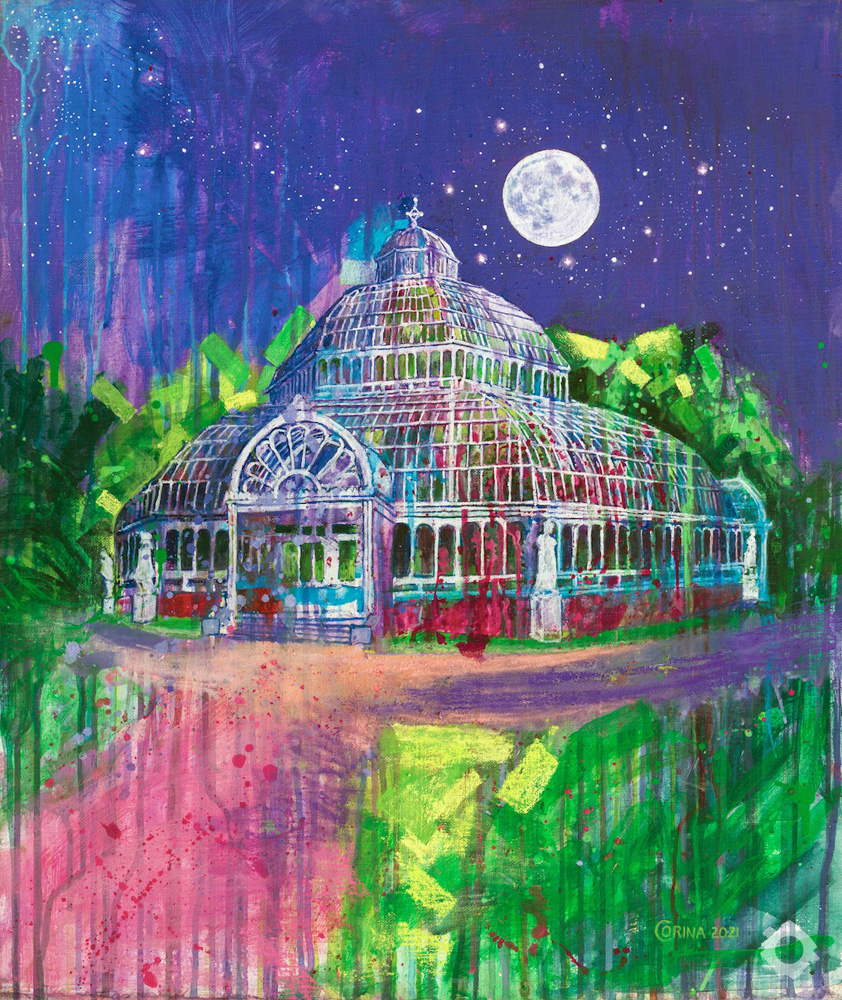 Palm House By The Light Of The Silvery Moon – Alex Corina