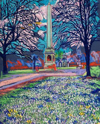 Obelisk in the Park - Alex Corina