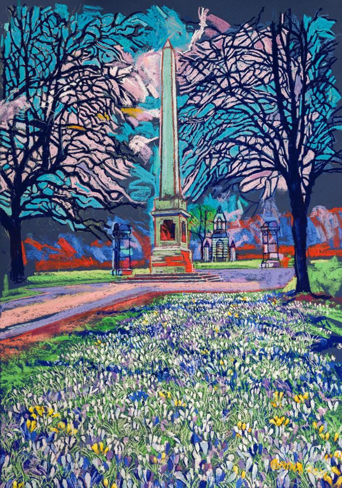 Obelisk in the Park – Alex Corina
