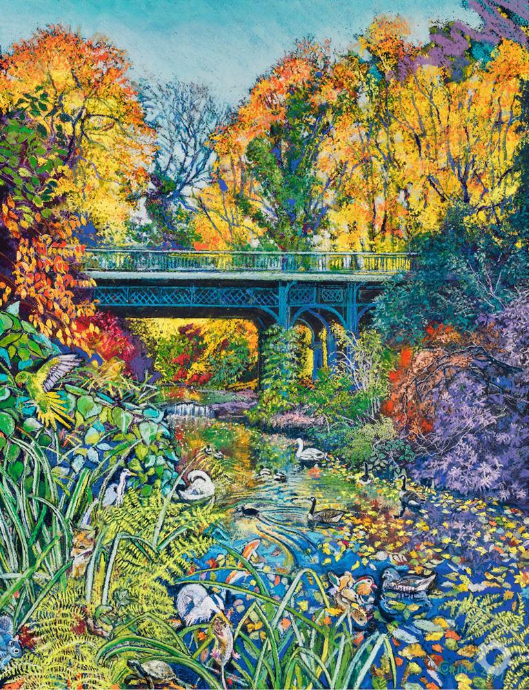 Iron Bridge Sefton Park- Alex Corina